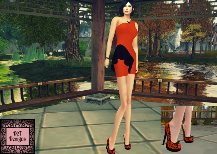 D2t Ruffle dress