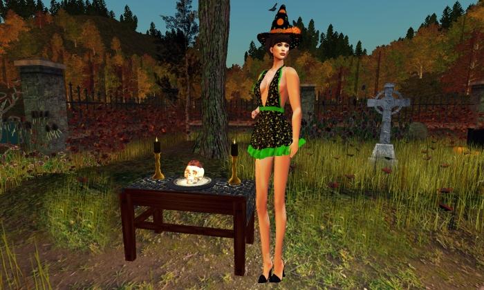 Scare me green dress.jpg