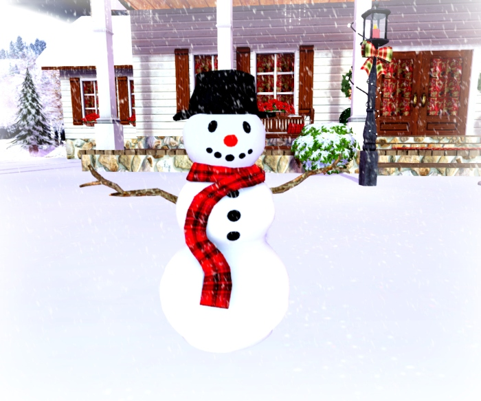 winter showcase snowman