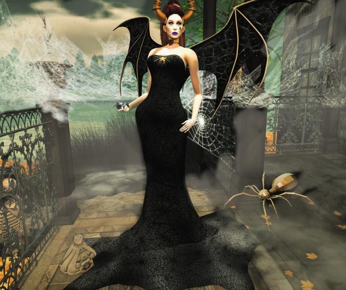 Swank gown october