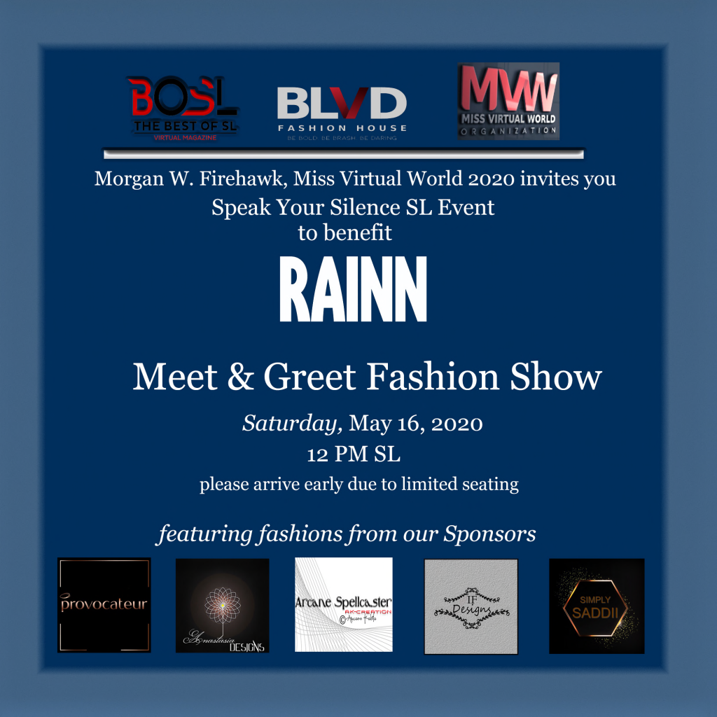 SYSE Meet and Greet Fashion Show Invitation